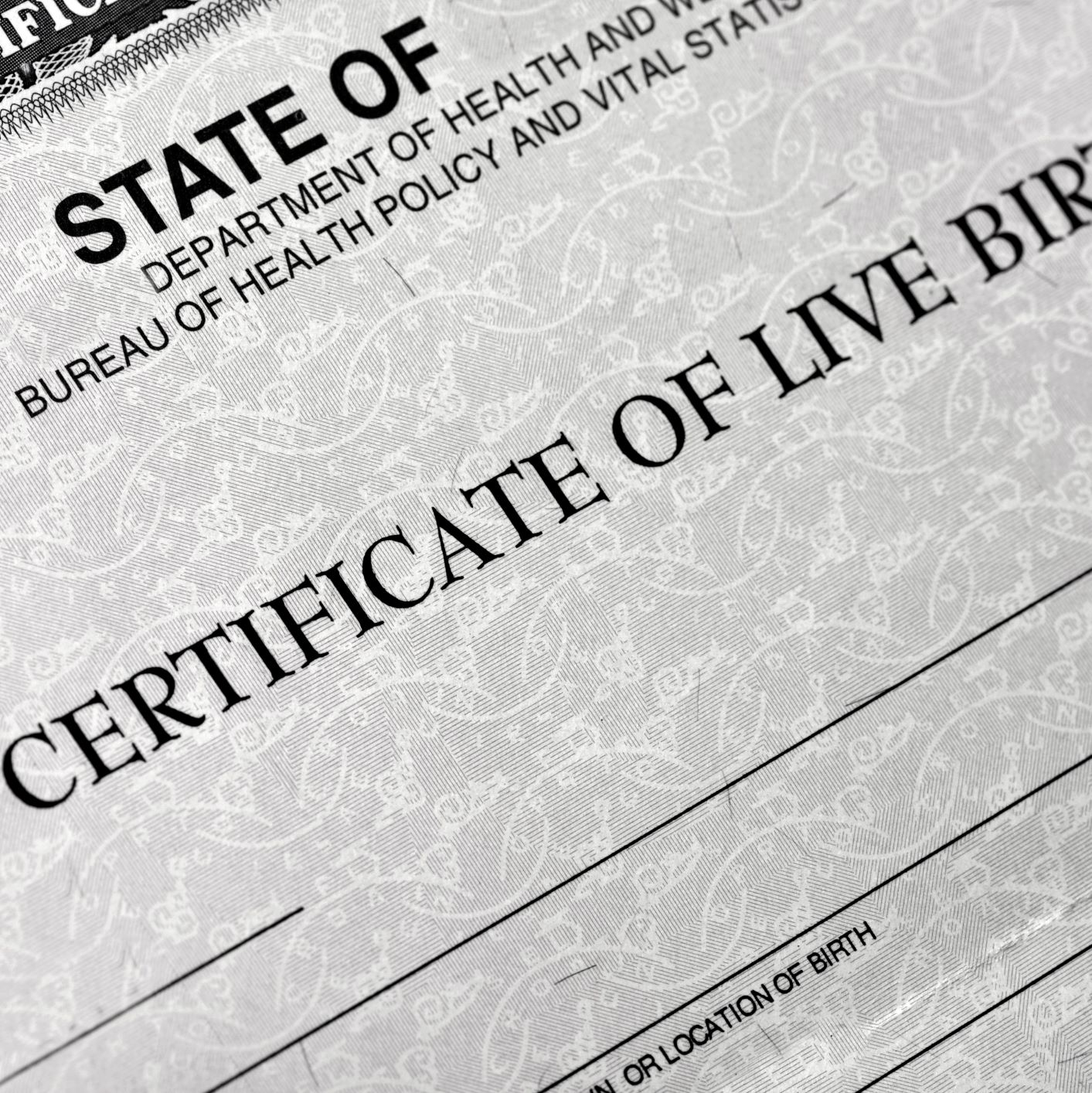 How to change the name of the child on birth certificate